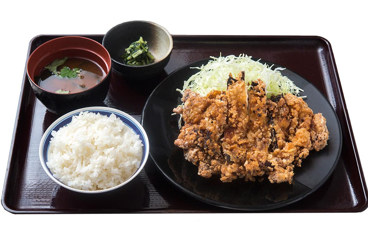 京都勝牛 奈良柏木店 鶏の三味香ばし揚げ膳